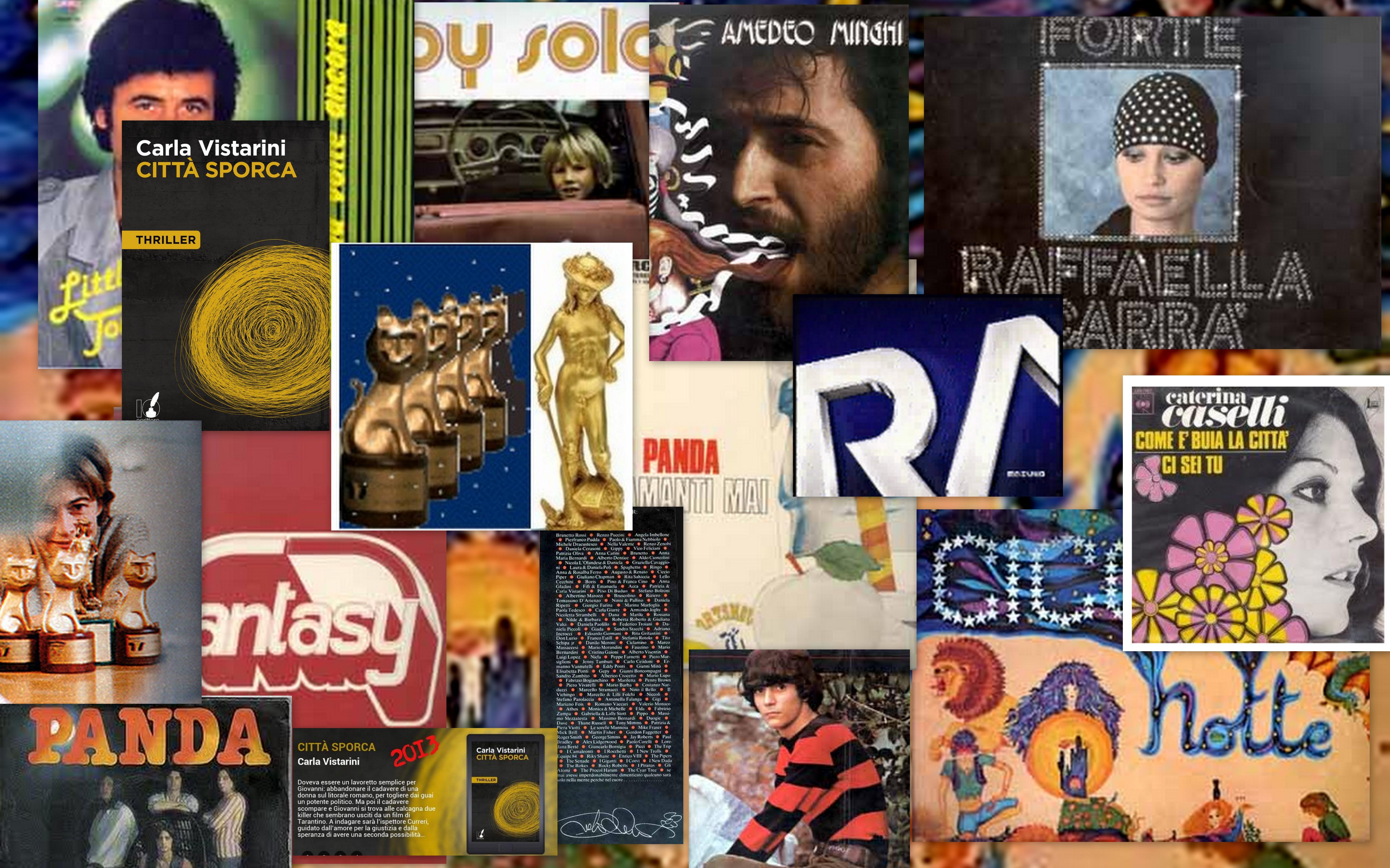 collage copertine dischi ecc